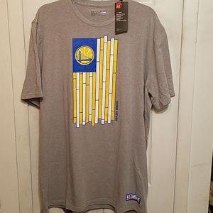 UA NBA Golden State T-Shirt